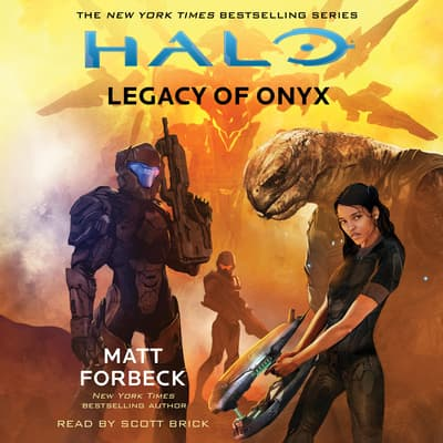 HALO: Legacy of Onyx by Matt Forbeck audiobook