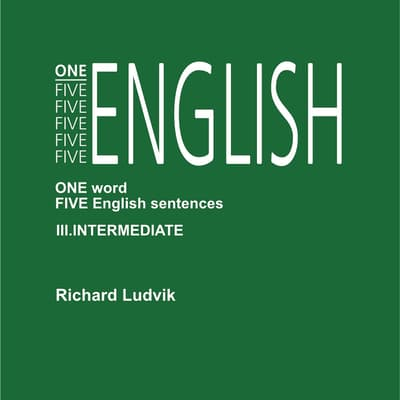 One Five English III Intermediate by Richard Ludvik audiobook