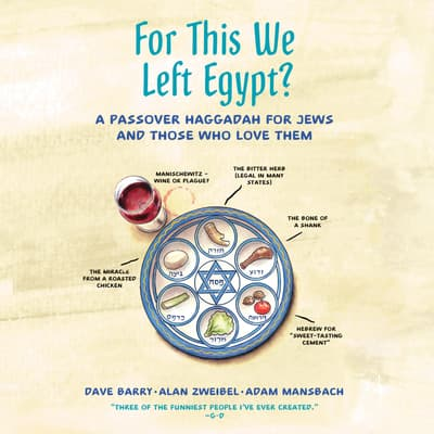 For This We Left Egypt? by Alan Zweibel audiobook