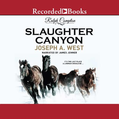 Ralph Compton Slaughter Canyon by Ralph Compton audiobook