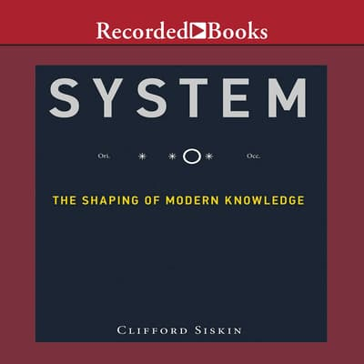 System by Clifford Siskin audiobook