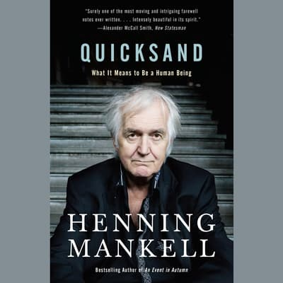 Quicksand by Henning Mankell audiobook