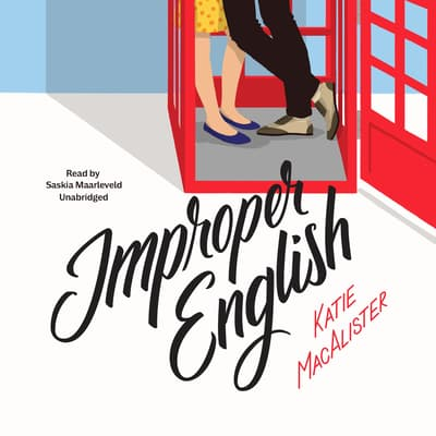 Improper English by Katie MacAlister audiobook