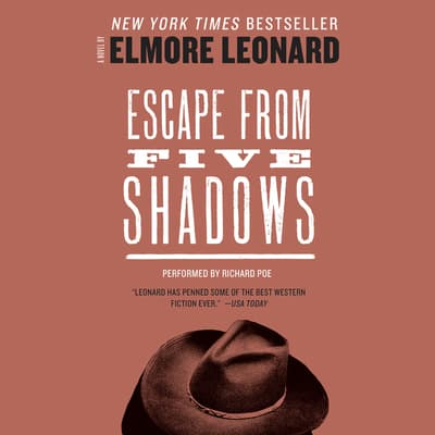 Escape from Five Shadows by Elmore Leonard audiobook