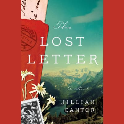 The Lost Letter by Jillian Cantor audiobook
