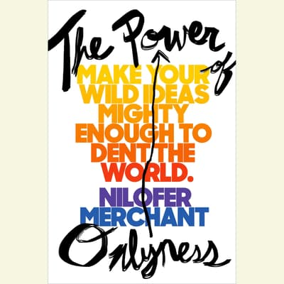 The Power of Onlyness by Nilofer Merchant audiobook