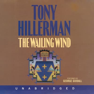 The Wailing Wind by Tony Hillerman audiobook