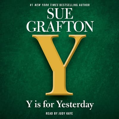 Y is for Yesterday by Sue Grafton audiobook