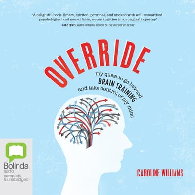 Override by Caroline Williams audiobook