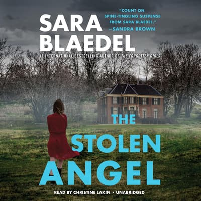 The Stolen Angel by Sara Blaedel audiobook