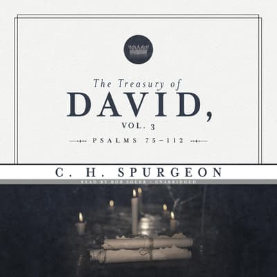 The Treasury of David, Vol. 3 by C. H. Spurgeon audiobook