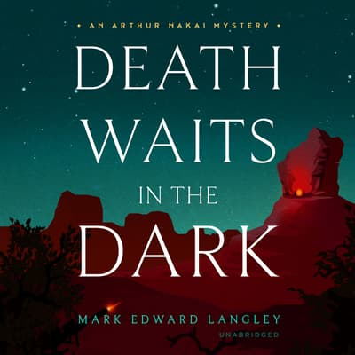 Death Waits in the Dark by Mark Edward Langley audiobook