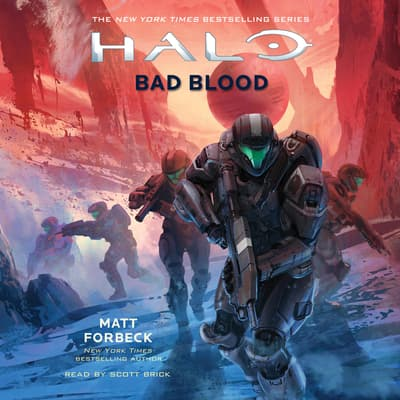 HALO: Bad Blood by Matt Forbeck audiobook