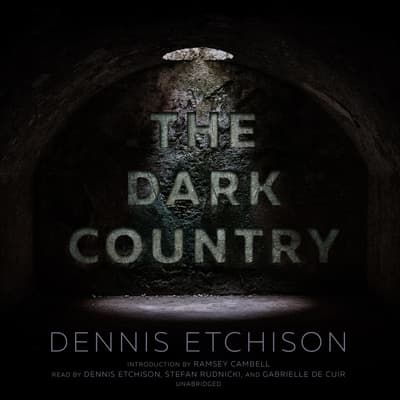 The Dark Country by Dennis Etchison audiobook