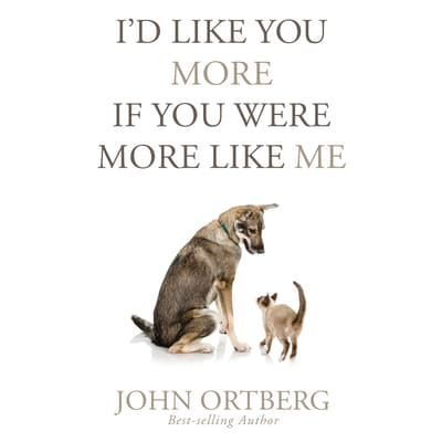 I'd Like You More if You Were More Like Me by John Ortberg audiobook