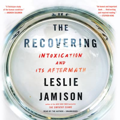 The Recovering by Leslie Jamison audiobook