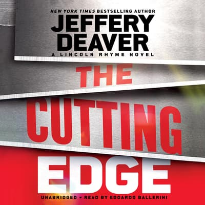 The Cutting Edge by Jeffery Deaver audiobook
