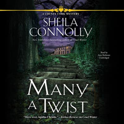 Many a Twist by Sheila Connolly audiobook