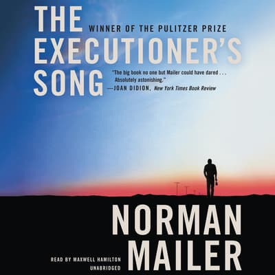 The Executioner's Song by Norman Mailer audiobook
