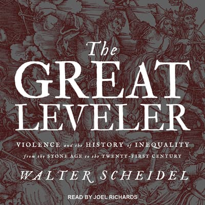 The Great Leveler by Walter Scheidel audiobook