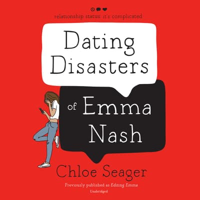 Dating Disasters of Emma Nash by Chloe Seager audiobook