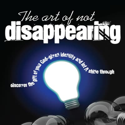 The Art of Not Disappearing by Vangjel Shore audiobook