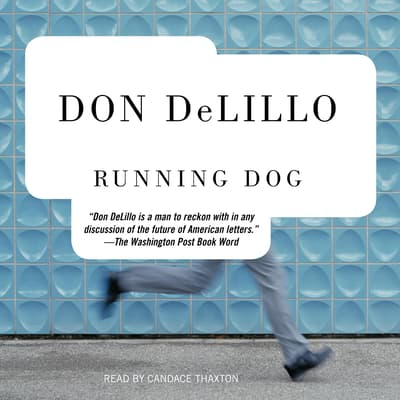 Running Dog by Don DeLillo audiobook