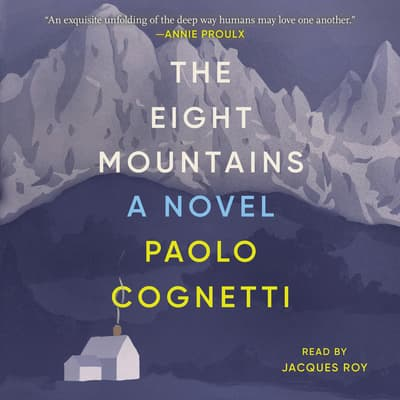 The Eight Mountains by Paolo Cognetti audiobook