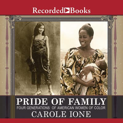 Pride of Family by Carole Ione audiobook