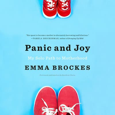 Panic and Joy by Emma Brockes audiobook