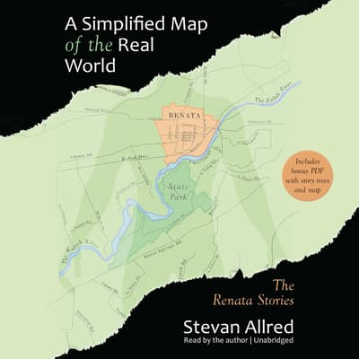 A Simplified Map of the Real World by Stevan Allred audiobook