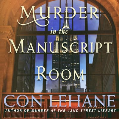 Murder in the Manuscript Room by Con Lehane audiobook
