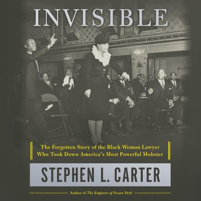 Invisible by Stephen L. Carter audiobook