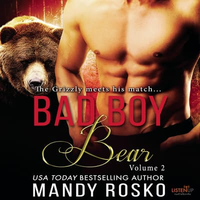 Bad Boy Bear Vol 2 by Mandy Rosco audiobook