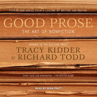 Good Prose by Tracy Kidder audiobook