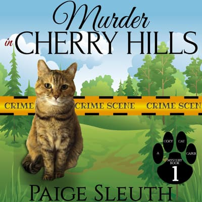 Murder in Cherry Hills by Paige Sleuth audiobook