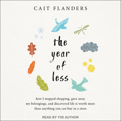 The Year of Less by Cait Flanders audiobook