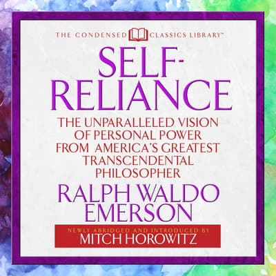 Self-Reliance  by Ralph Waldo Emerson audiobook