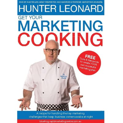 Get your Marketing Cooking by Hunter Leonard audiobook