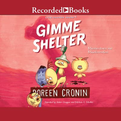 Gimme Shelter by Doreen Cronin audiobook