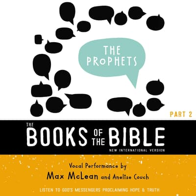 The Books of the Bible Audio Bible - New International Version, NIV: (2) The Prophets by Zondervan audiobook