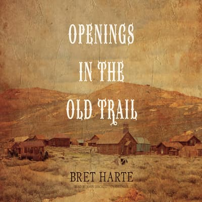Openings in the Old Trail by Bret Harte audiobook