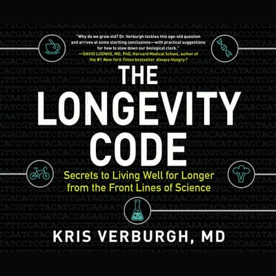 The Longevity Code by MD Kris Verburgh audiobook