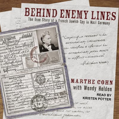 Behind Enemy Lines by Wendy Holden audiobook