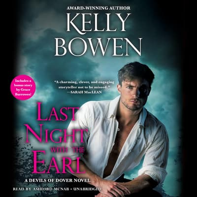 Last Night With the Earl by Kelly Bowen audiobook