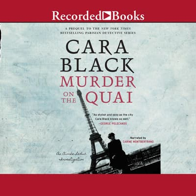Murder on the Quai by Cara Black audiobook