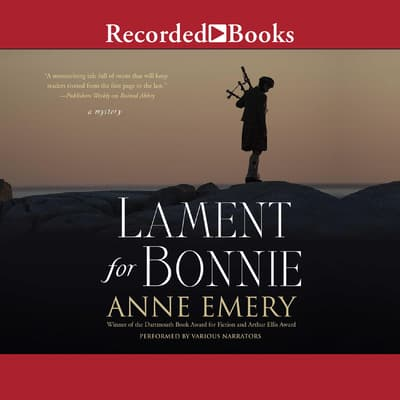 Lament for Bonnie by Anne Emery audiobook