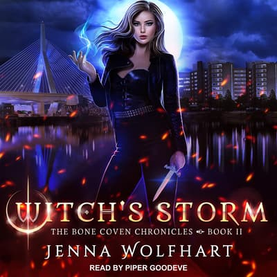 Witch's Storm by Jenna Wolfhart audiobook