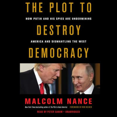 The Plot to Destroy Democracy by Malcolm Nance audiobook