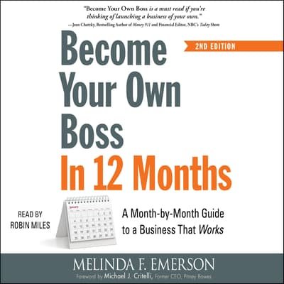 Become Your Own Boss in 12 Months by Melinda F. Emerson audiobook
